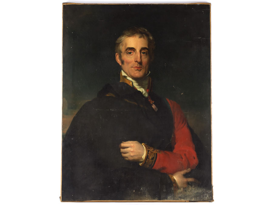 Full Length - Portrait of Arthur Wellesley, 1st Duke of Wellington