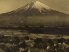 View of Mount Fuji from Village
