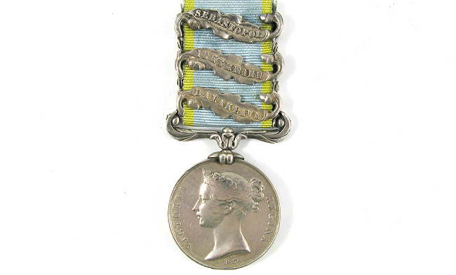 One of our Crimean War medals