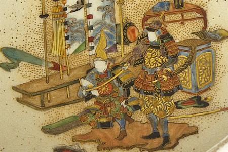 Japanese Cloisonne and The Samurai